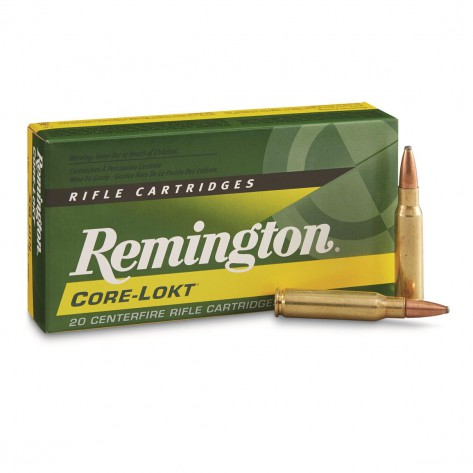 Munición REMINGTON CORE LOKT