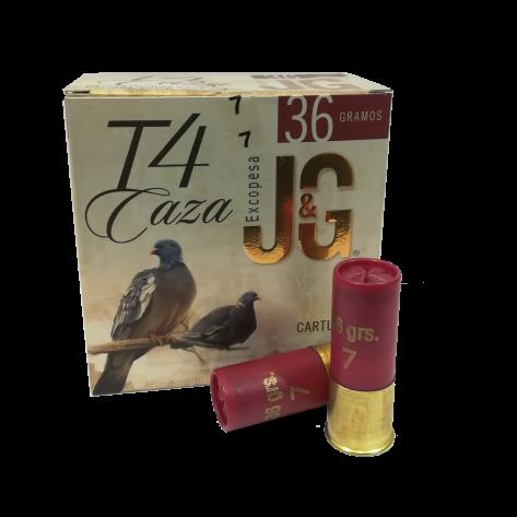 Cartucho J&G T4 Caza 36 gr