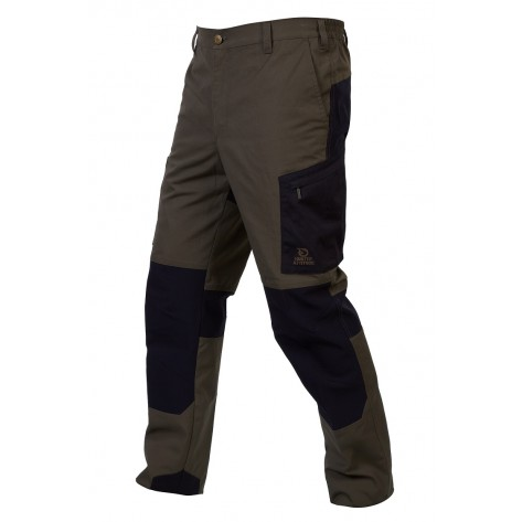 Pantalón Gamo Cazorla Semielastico Marron/Negro