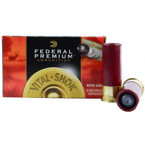 Cartucho bala Federal Premium Truball Rifled Slug HD