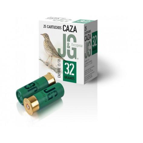 Cartucho J&G Caza 32 gr.