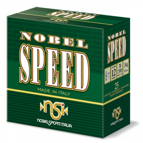 CartuchoNSI Nobel Speed HP cal.12 - 34gr