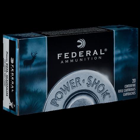 Munición FEDERAL POWER-SHOK SOFT POINT