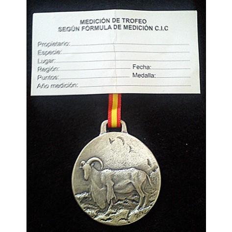Medalla Trofeo ARRUÍ