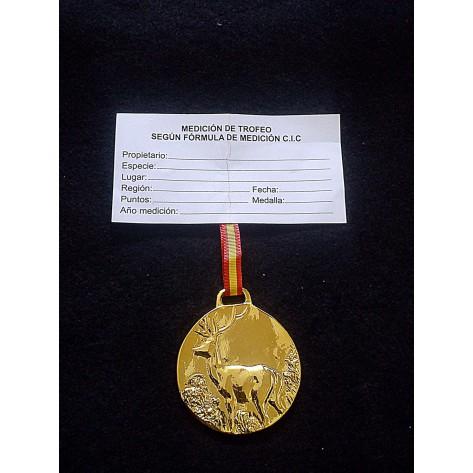 Medalla Trofeo CIERVO