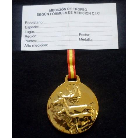 Medalla Trofeo GAMO