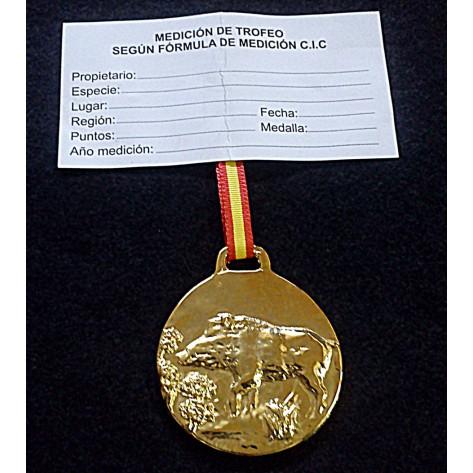 Medalla Trofeo JABALÍ