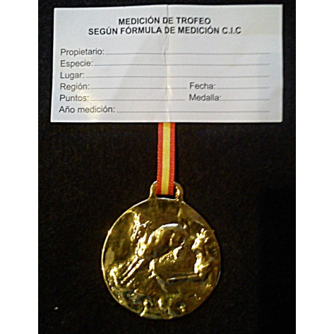 Medalla Trofeo REBECO