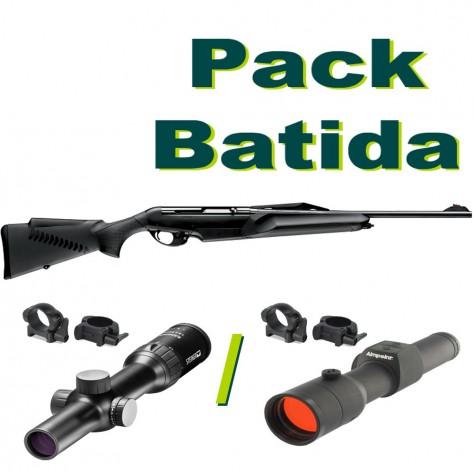 PACK BATIDA BENELLI ARGO E COMFORT CON VISOR STEINER RANGER V4 1-4x24 RI O AIMPOINT