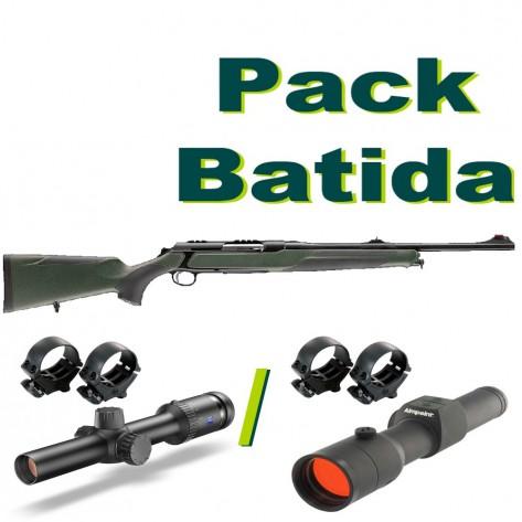 Pack rececho - rifle sauer + visor zeiss + monturas