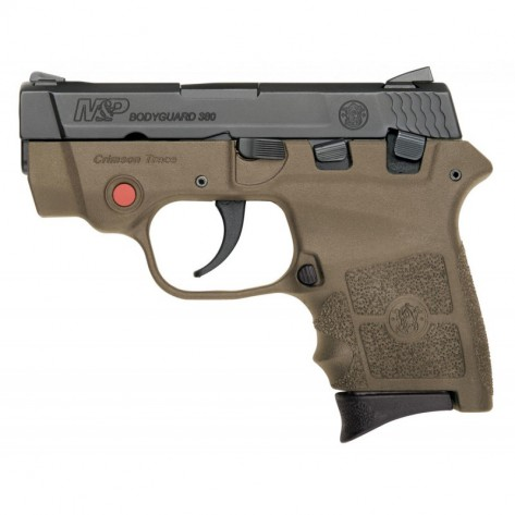 Pistola SMITH & WESSON M&P BODYGUARD 380 con láser
