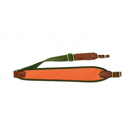 Porta fusil linea ancha marrón
