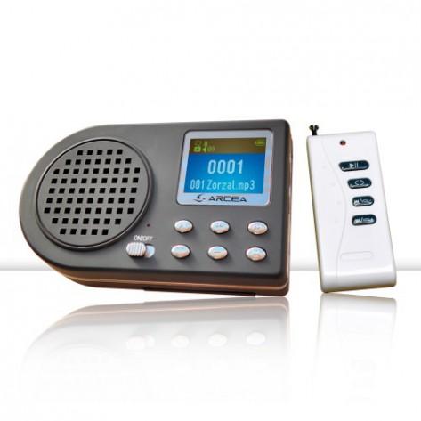 Reclamo de cantos electrónico MP3