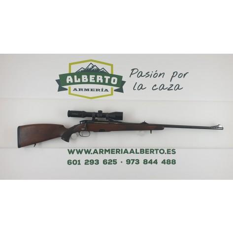 Rifle Mannlicher Classic con Monturas Apel y Visor SB 1,5-6x42