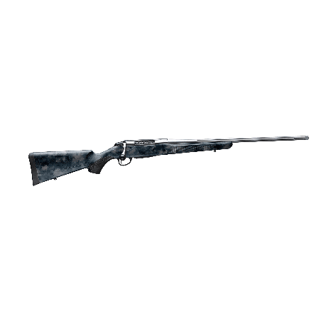 Rifle Tikka T3X Lite Polyfade Hexagon Black Rock Camo