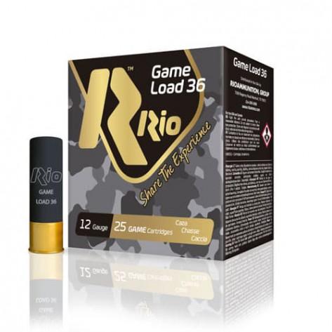 Cartucho Rio Game Load 36 cal. 12 - 36gr