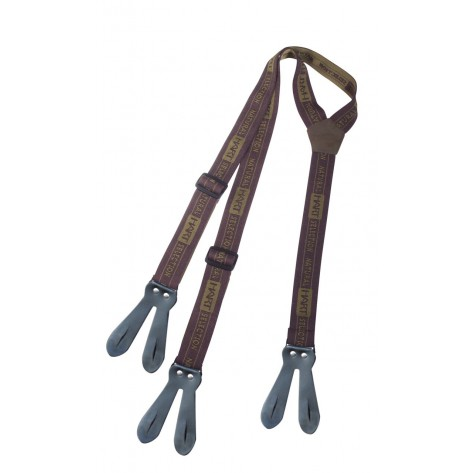 Tirantes LEATHER JOINT SUSPENDERS
