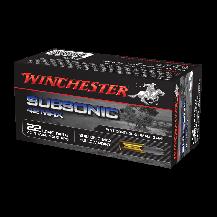 Munición anular WINCHESTER 22LR SUBSONIC