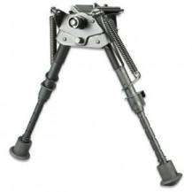 Bipode de tiro para rifle pivotante