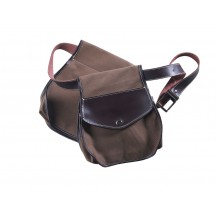 Bolsa de ojeo porta cartuchos para cinturon