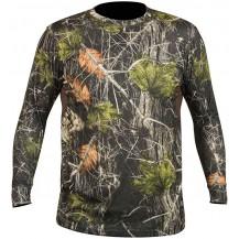 Camiseta Hart Crew-L Camo Forest