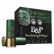 Cartucho B&P Tiro F2 4 TRAP