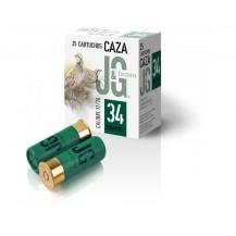 Cartucho J&G Caza 34 gr.