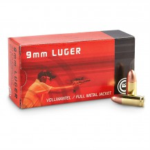 Munición anular Geco 9mm. FMJ