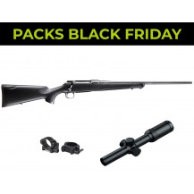 PACK BLACK FRIDAY SAUER 100 CLASSIC XT CON VISOR 1-6x24 RI