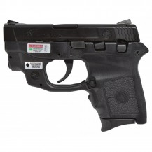 Pistola SMITH & WESSON M&P BODYGUARD 380 con láser verde