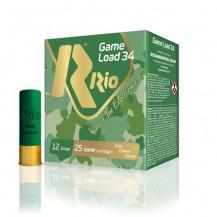 Cartucho Rio Game Load 34 cal. 12 - 34gr