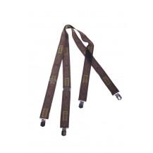 Tirantes Hart Metal Clip Suspenders