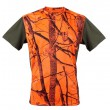 Camiseta técnica naranja camo Gamo