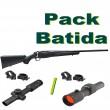 PACK BATIDA  Tikka T3X LITE CON VISOR 1-4x24 RI O AIMPOINT