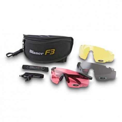 Gafas Blaser F3 Set de 3 lentes