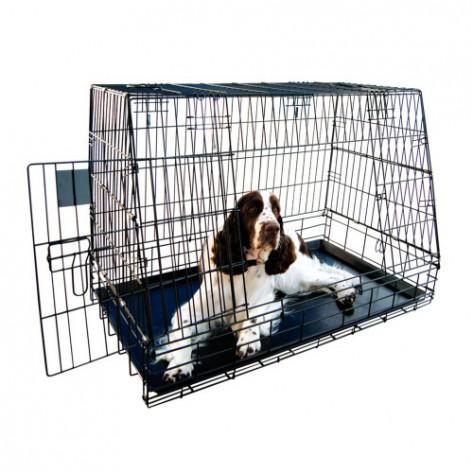 Jaula para perros plegable para SUV, furgoneta o 4x4