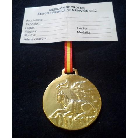 Medalla Trofeo MACHO MONTÉS