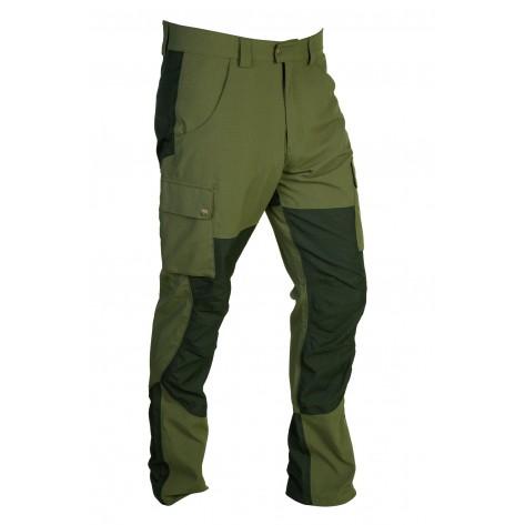 Pantalón semielastico Verde/Negro Gamo