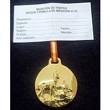 Medalla Trofeo CORZO
