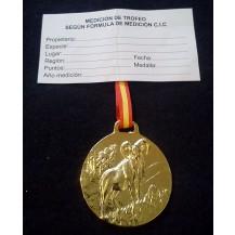 Medalla Trofeo MUFLÓN