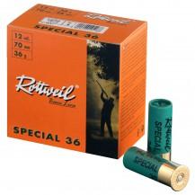 Cartucho Rottweil Special 36gr.