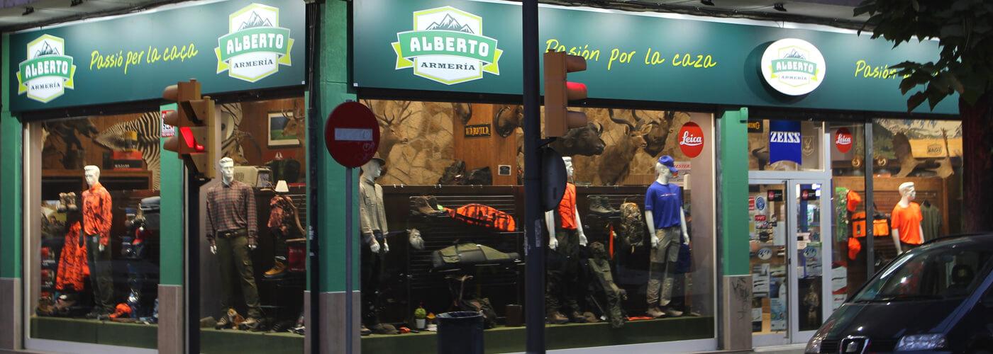 Tienda Armeria Alberto